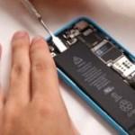 iPhone 5C akkumulátor csere