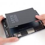 iPad mini akkumulátor csere
