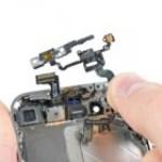 iPhone 5 bekapcsológomb csere