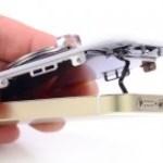 iPhone 5S gyári erintő LCD csere