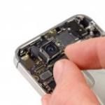 iPhone 4S hátlapi kamera csere