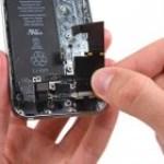 iPhone 5S headset fólia csere