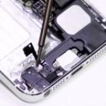 iPhone 5 rendszercsatlakozó csere