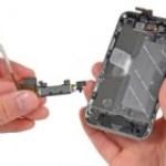 iPhone 4 rendszercsatlakozó csere