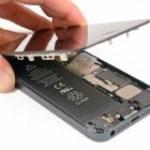 iPhone 5 utángyártott érintő LCD csere
